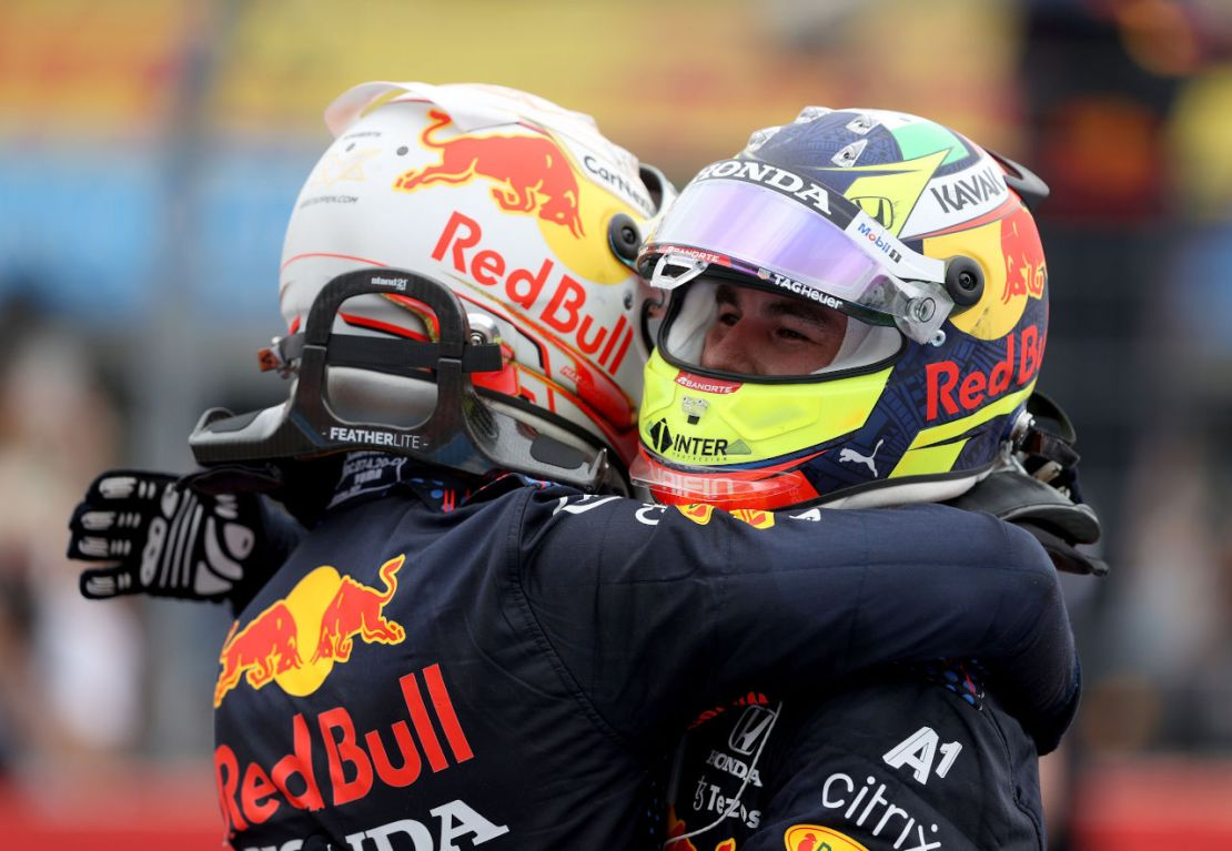 Verstappen Perez Francia 2021
