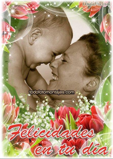 Más De 100 Fotomontajes De Día De La Madre Online Gratis