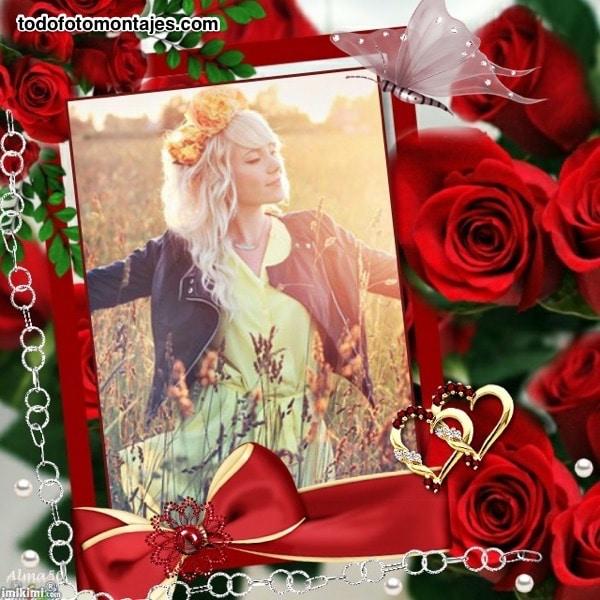 Más De 100 Fotomontajes De Flores Online Gratis