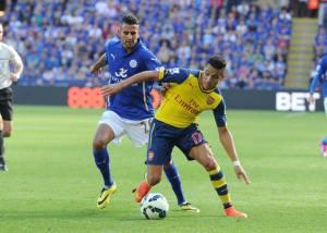 Alexis anotó su segundo gol oficial con la camiseta del Arsenal.