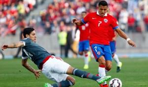 Con su gol, Alexis llegó a 28 goles por la Roja.