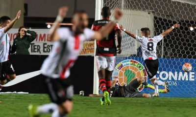 Palestino logró una gran hazaña al vencer en Brasil al Flamengo y clasificar a cuartos de la Copa Sudamericana.