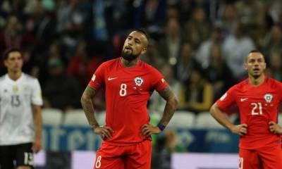 Chile y Alemania empataron 1 a 1.