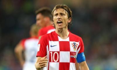 Luka Modric fue elegido el mejor jugador del Mundial.