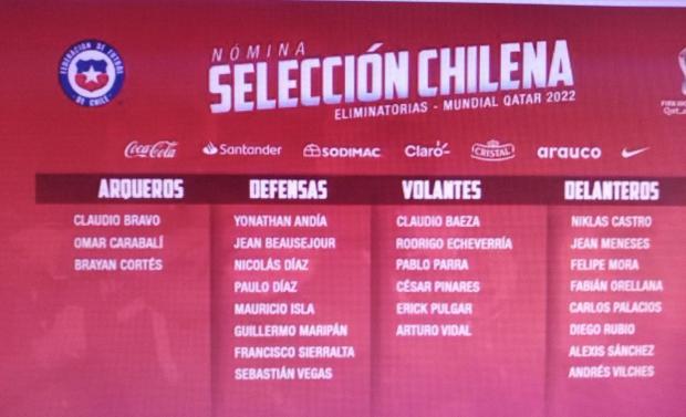 seleccion chilena
