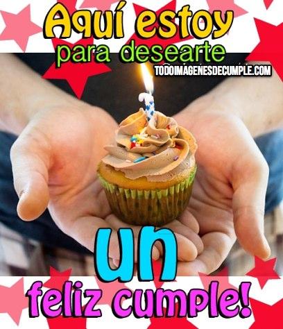 te deseo un feliz cumpleaños