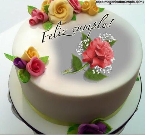 imagenes de cumpleaños con flores