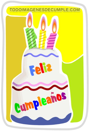 imagenes de feliz cumpleaños con colores