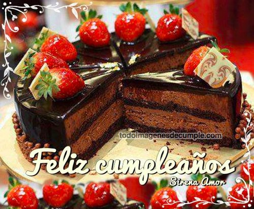 imágenes de feliz cumpleaños con torta