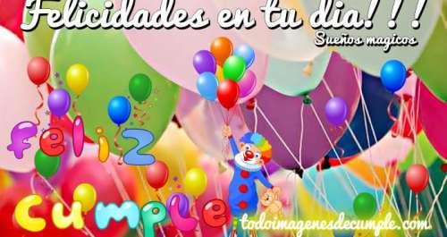 imágenes de cumpleaños felicidades en tu día