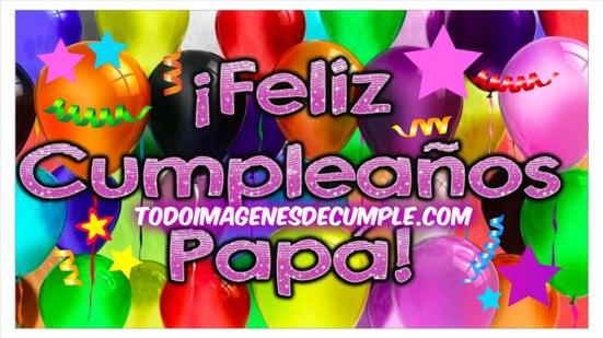 feliz cumpleaños padre