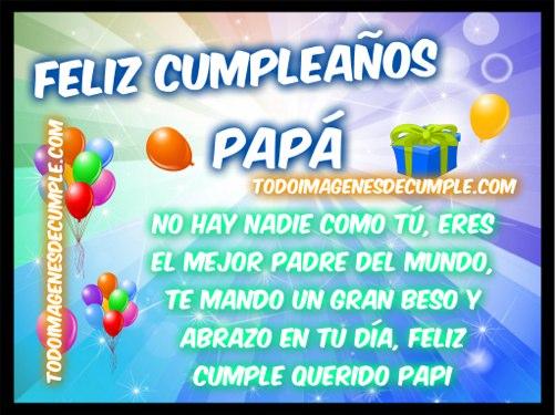 imagenes de feliz cumpleaños papa