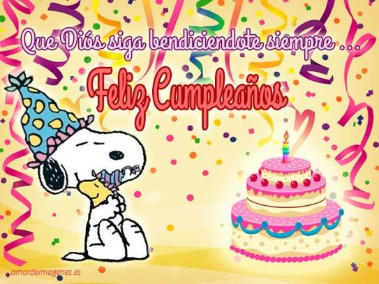 que Dios siga bendiciéndote feliz cumpleaños