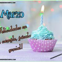 Imágenes de cumpleaños mes de MARZO