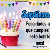 Imágenes de cumpleaños mes de SEPTIEMBRE para descargar gratis