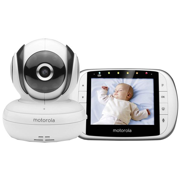 Motorola MBP 36SSC - Vigilabebés Vídeo con Pantalla LCD