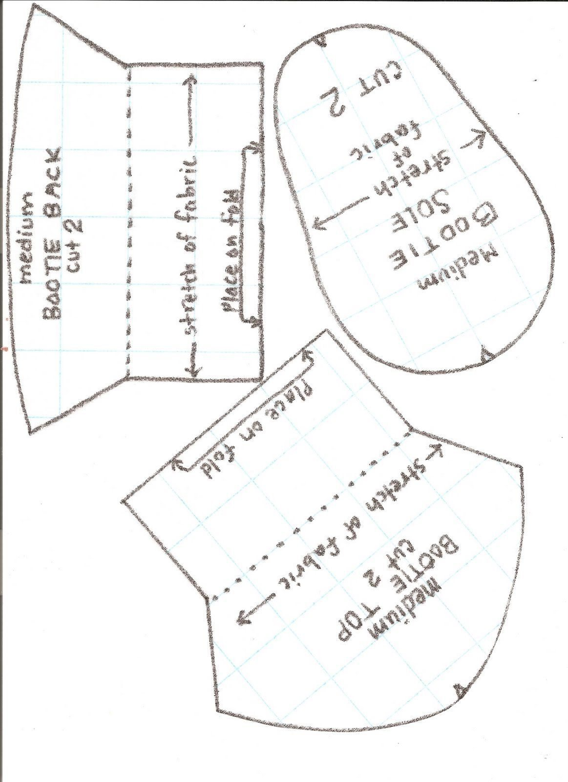 Baby Moccasin Pattern Printable Pdf