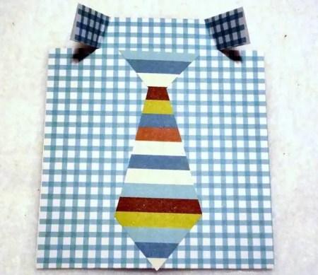 Tarjeta camisa corbata para el Día del Padre - Dale Detalles