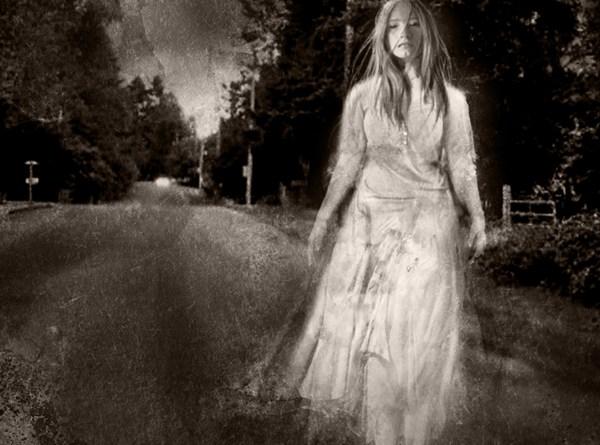 Fantasma de la Dama de Blanco (ilustrativa)