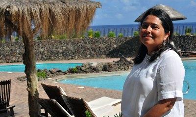 Loretta Moreira es la Gerente General del Hotel Hanga Roa de Isla de Pacua.