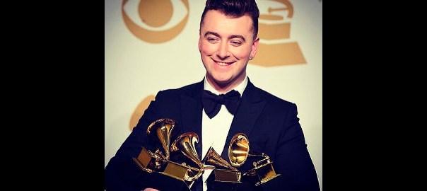 Sam Smith en los Grammys