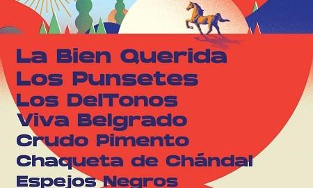 Cartel del festival Vértigo Estival
