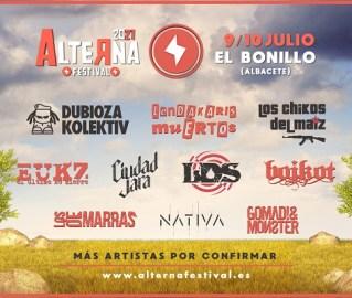Cartel del Alterna festival