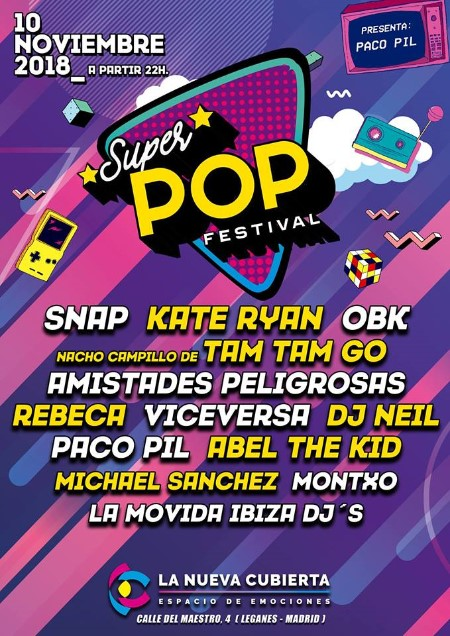 Cartel del Superpop Festival