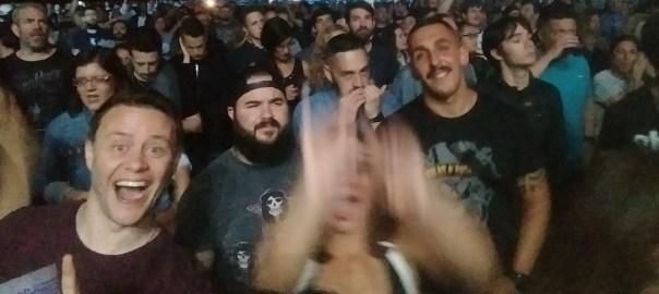 Imagen de público en un concierto