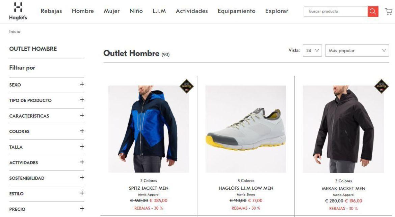Outlet online de Haglofs