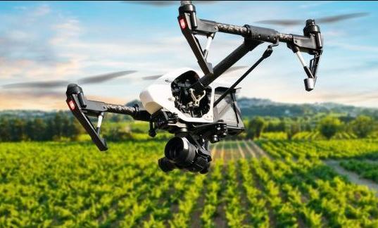 uso de drones en la agricultura