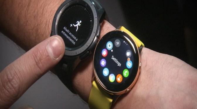 Samsung Galaxy Watch Active vs Galaxy Watch características y precio