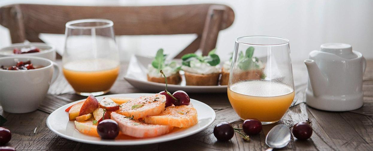 Desayuno antes sesión suf