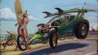 La pintura de Damian Fulton
