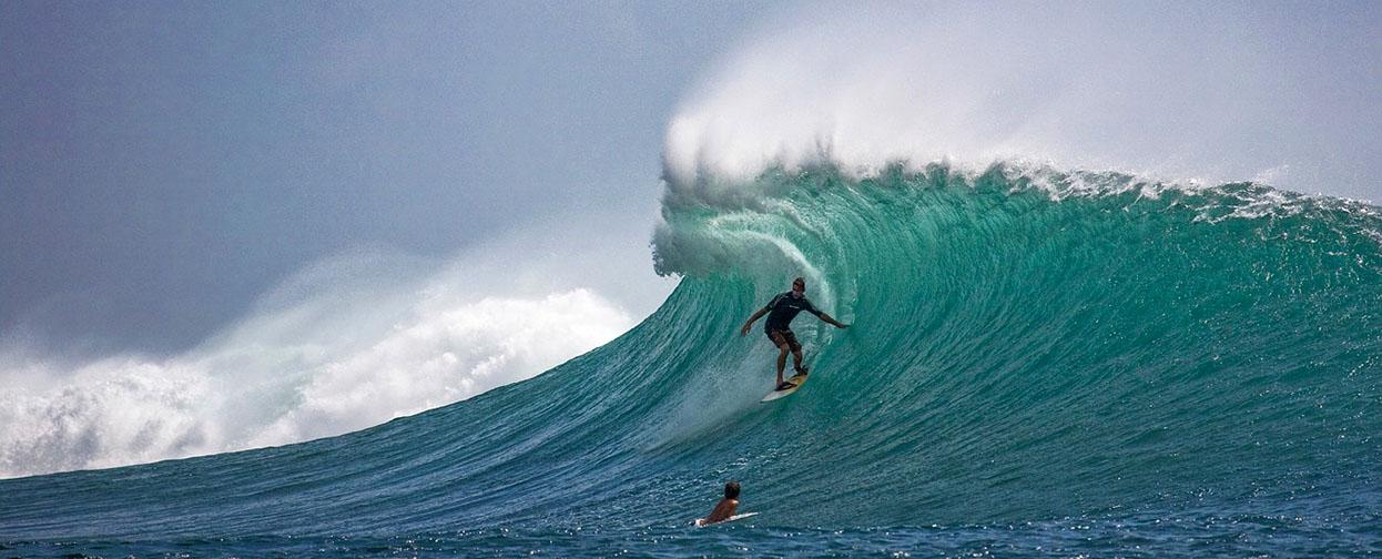Medir la altura de las olas