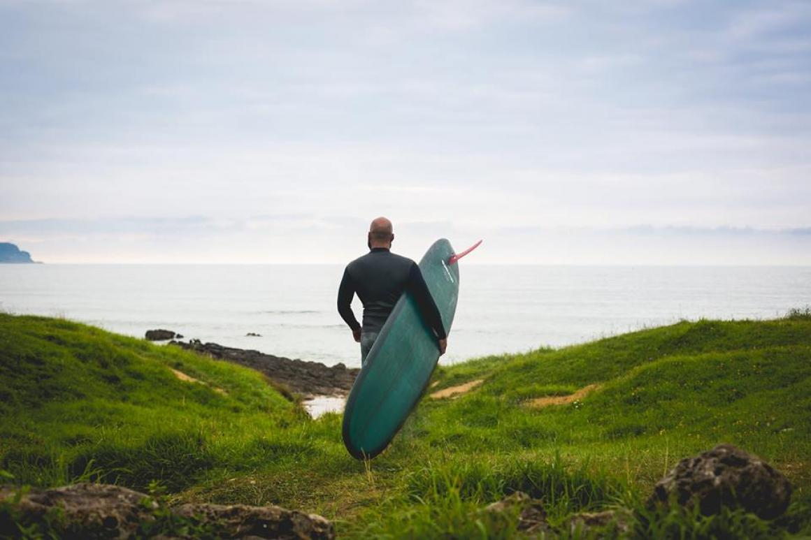 El surf es una terapia fantástica para la depresión