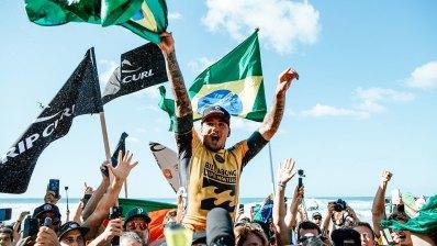 Gabriel Medina, Campeón del Mundo por 2ª vez