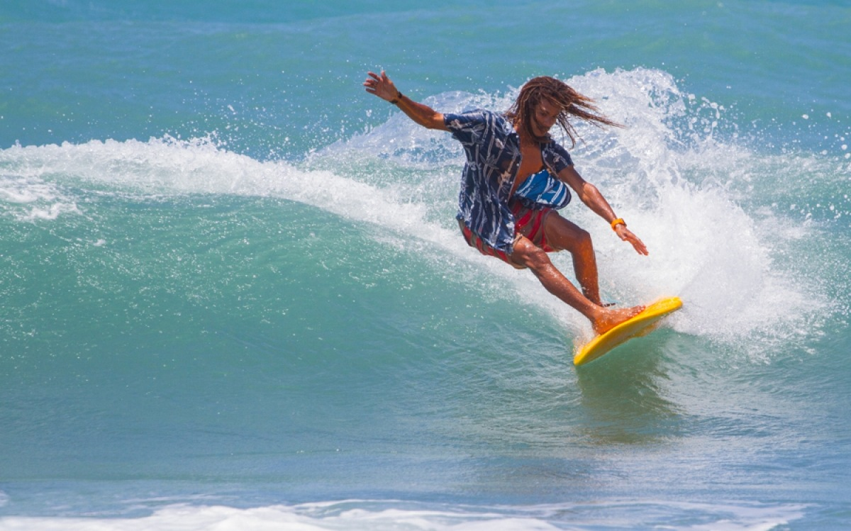 Surf en Jamaica