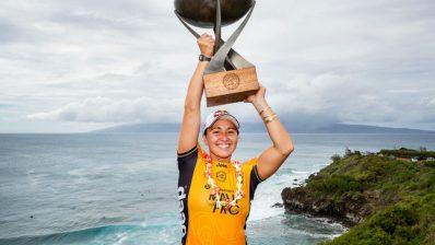 Carissa Moore consigue su cuarto título mundial