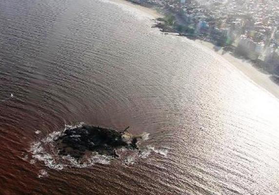 Vista aérea de la Isla de las Gaviotas
