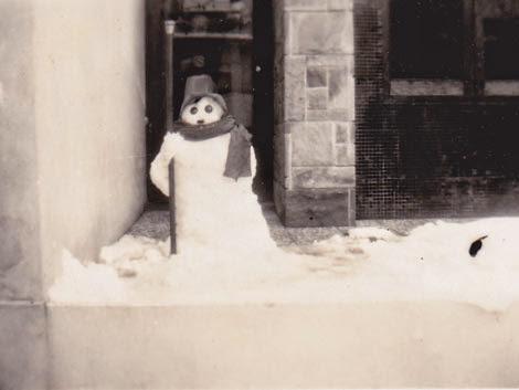 Muñeco de nieve en Treinta y Tres