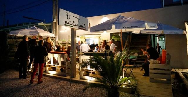 Noche en La Barra de Maldonado