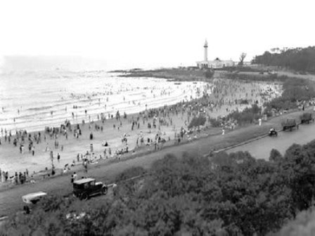 Foto antigua de Playa del Buceo