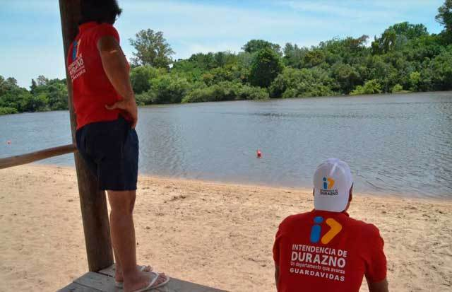 Guardavidas de la Playa El Sauzal