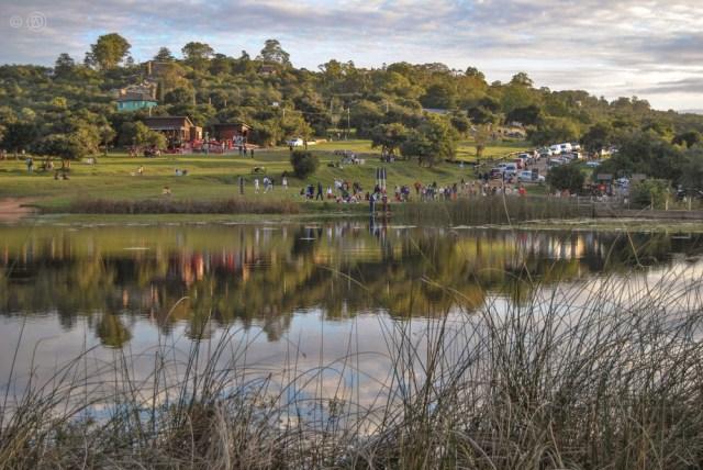Lago de Villa Serrana