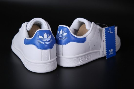 Adidas Stan Smith Blancas azules 6