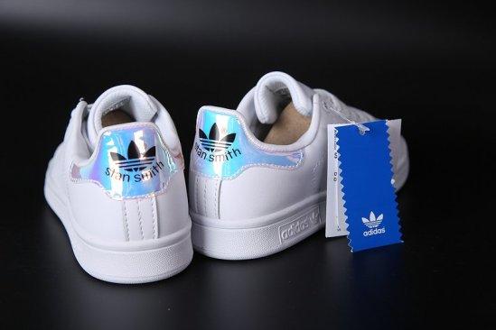Adidas Stan Smith Blancas iriscentes 4