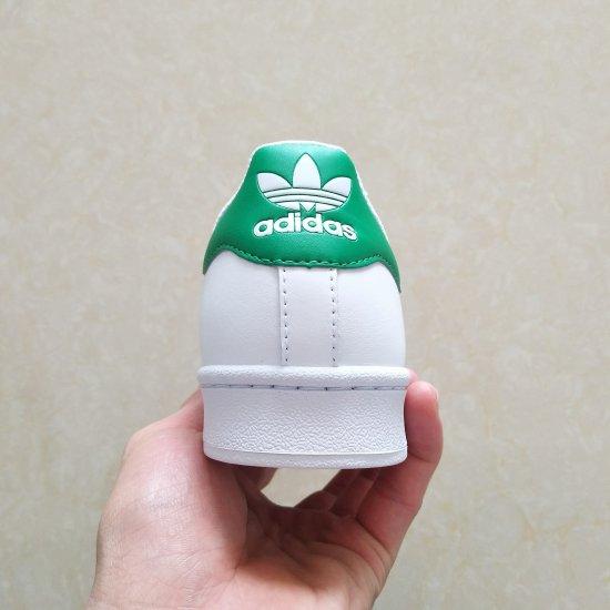 Adidas Superstar Blancas verdes 2 scaled