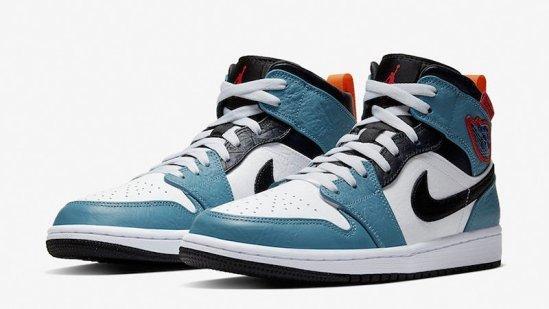 "Facetasm x Nike Air Jordan 1 Mid""Fearless"""