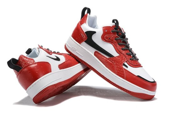 NIKE Air Force 1 Reptil Red 1